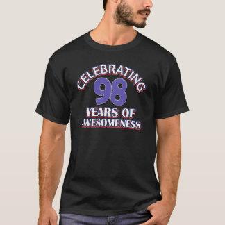 98-jährige Geschenkentwürfe T-Shirt