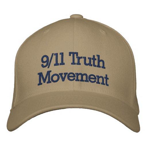 9/11 Wahrheits-Bewegung gestickter Hut Bestickte Kappe