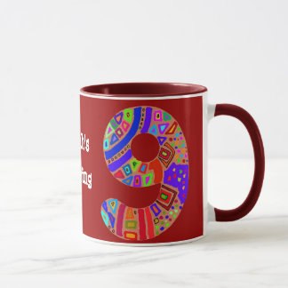 9. Geburtstags-Tasse Tasse