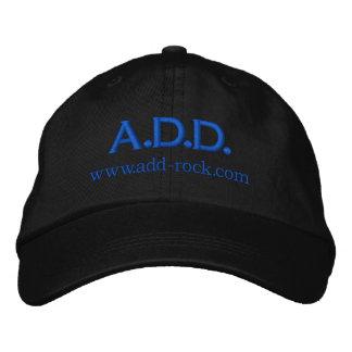 A.D.D. Felsen gestickte Kappe Baseballcap