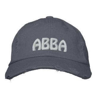 """ABBA - Aramäisches Wort für """"Vater. """" Bestickte Baseballkappen"""