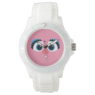 Abby Cadabby großes Gesicht Uhr