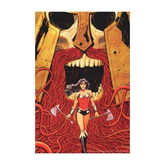 Abdeckung #23 des Wunder-Frauen-neue Comic-52 Leinwanddruck