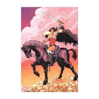 Abdeckung #24 des Wunder-Frauen-neue Comic-52 Leinwanddruck