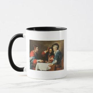 Abendessen bei Emmaus (Öl auf Leinwand) 2 Tasse