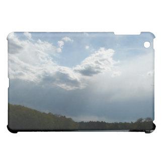 Abends-Licht-Landschaft und Himmel iPad Mini Hülle