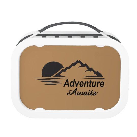 Abenteuer erwartet Natur-freie Natur Brotdose