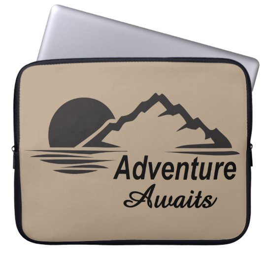 Abenteuer erwartet Natur-freie Natur Laptopschutzhülle