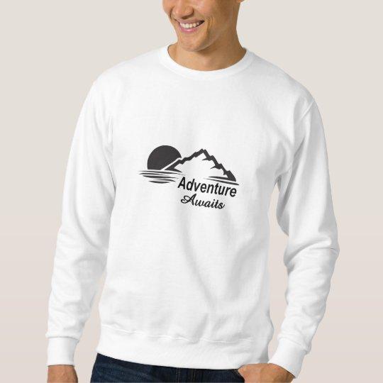 Abenteuer erwartet Natur-freie Natur Sweatshirt