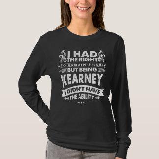Aber KEARNEY seiend hatte ich nicht Fähigkeit T-Shirt