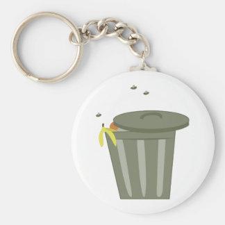 Abfalleimer Schlüsselanhänger