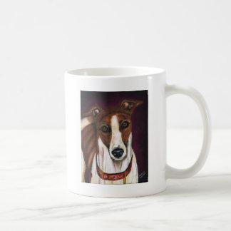 Abgabe - Windhund-Kunst Kaffeetasse