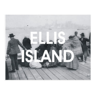 ABH Ellis Island Postkarten