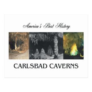 ABH Karlsbad Höhlen Postkarte