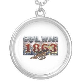 ABH ziviler Krieg 1863 Versilberte Kette