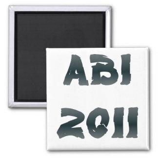 ABI 2011 QUADRATISCHER MAGNET