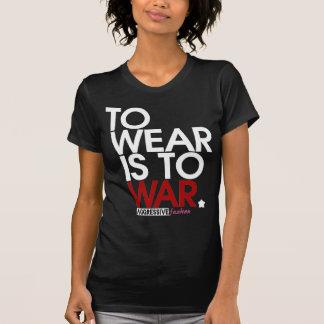 ABNUTZUNG ist KRIEG T-shirts