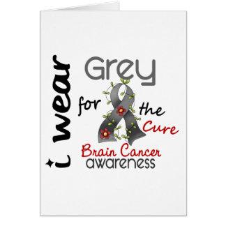 Abnutzungs-Grau des Hirntumor-I für die Heilung 43 Karte