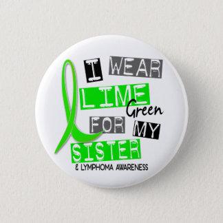 Abnutzungs-Limones Grün des Lymphom-I für meine Runder Button 5,1 Cm