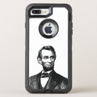 "Abraham Lincoln 1865 ""der große Befreier "" OtterBox Defender iPhone 8 Plus/7 Plus Hülle"
