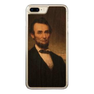 Abraham Lincoln durch Geschichte Georges H Carved iPhone 8 Plus/7 Plus Hülle