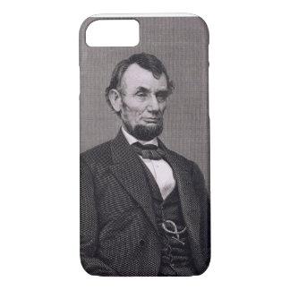 Abraham Lincoln, graviert von einer Fotografie iPhone 8/7 Hülle