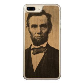 Abraham Lincoln-Porträt Carved iPhone 8 Plus/7 Plus Hülle