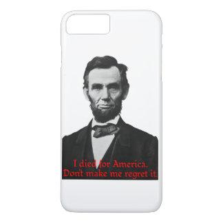 Abraham Lincolns amerikanischer Stolz iPhone 8 Plus/7 Plus Hülle