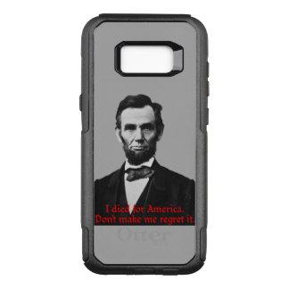 Abraham Lincolns amerikanischer Stolz OtterBox Commuter Samsung Galaxy S8+ Hülle