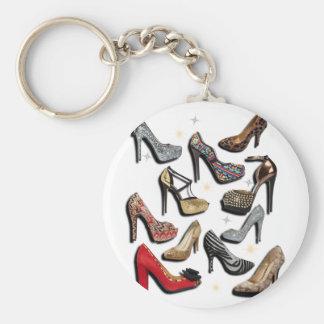 Absatz-Schuh-Collagen-Schein-Mode-Pumpen Schlüsselanhänger