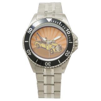 Abschleppwagen-Uhr Armbanduhr