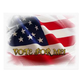 Abstimmung für mich postkarte