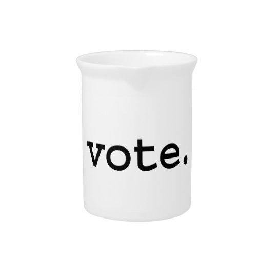 Abstimmung Getränke Pitcher