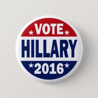 Abstimmung Hillary 2016 Runder Button 5,1 Cm