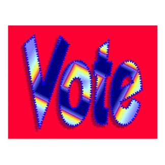 Abstimmung Postkarte