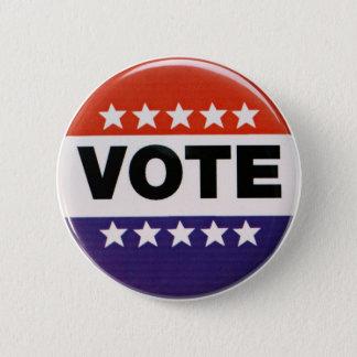 Abstimmung! Runder Button 5,7 Cm
