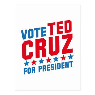 Abstimmung Ted Cruz Postkarten