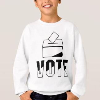 Abstimmung - Wahlurne-Entwurf Sweatshirt