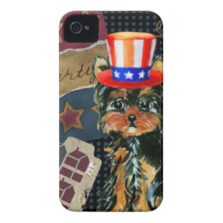 ABSTIMMUNG YORKIE POO iPhone 4 Case-Mate HÜLLE