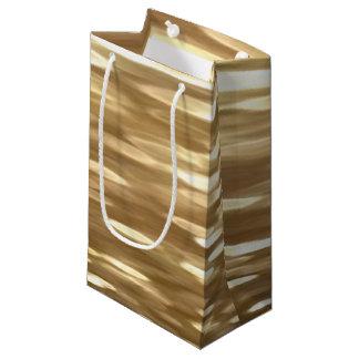 Abstrac #3: Goldschimmer Kleine Geschenktüte