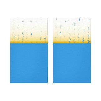 abstrakt galerie falt leinwand