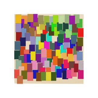 abstrakt holzdruck