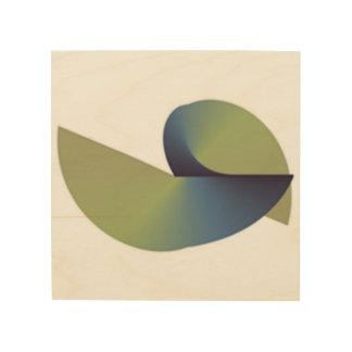 abstrakt holzwanddeko