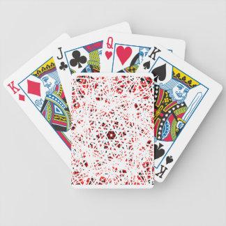 Abstrakt Pokerkarten