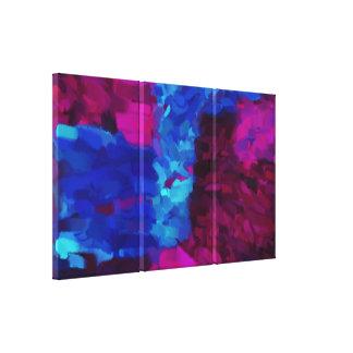 Abstrakte abstrakte Kunst der Malerei-| Gespannte Galeriedrucke