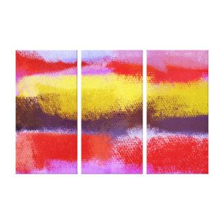 Abstrakte abstrakte Malerei der Kunst-| Leinwand Druck