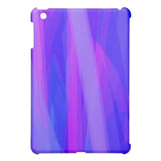 Abstrakte Bänder von Blauem und von violettem iPad Mini Hülle