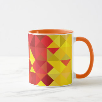 Abstrakte Cameroon-Flagge, Farben Cameroon Afrika Tasse
