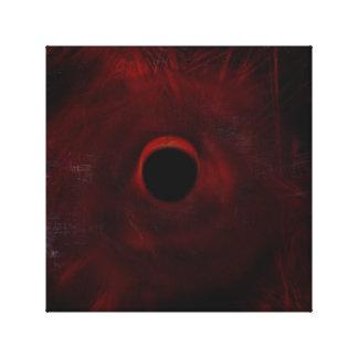 Abstrakte Eklipse Leinwand Druck