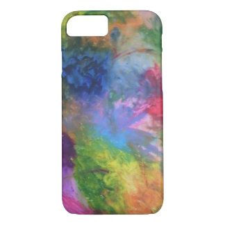 Abstrakte Farben iPhone 8/7 Hülle